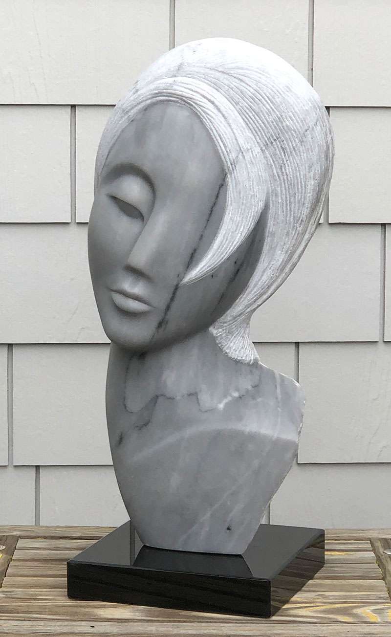 Missing You Sculpture - Front View