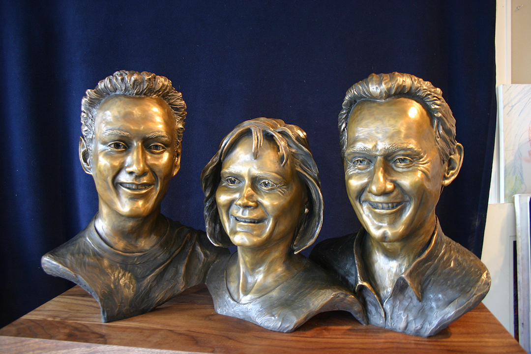 Kindred, Portrait of Siblings in Bronze